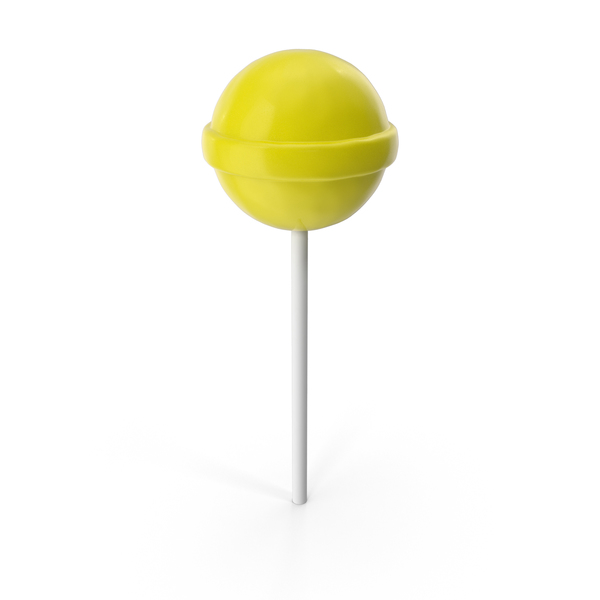 Yellow Lollipop PNG & PSD Images
