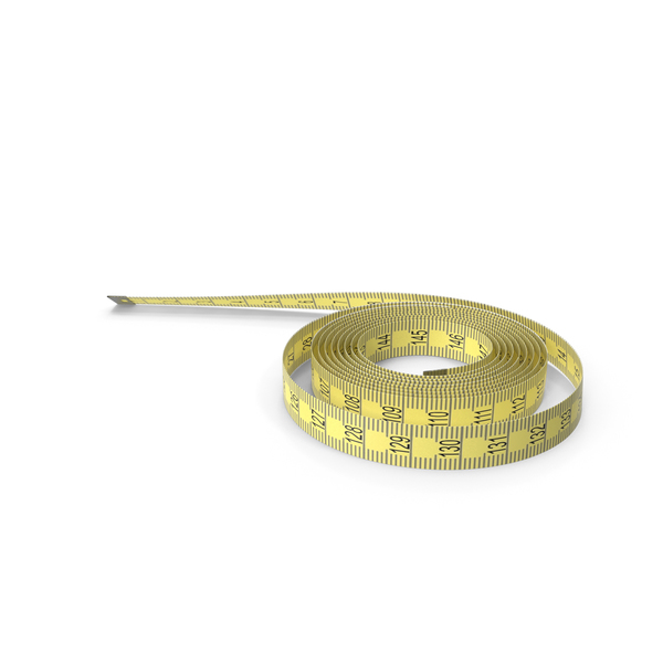 Yellow Measure Tape PNG & PSD Images
