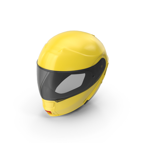 Yellow Racing Helmet Object