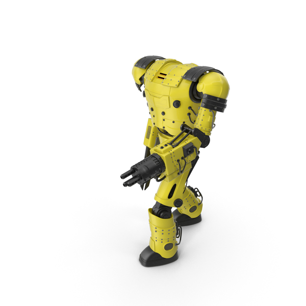 Yellow Robot PNG & PSD Images