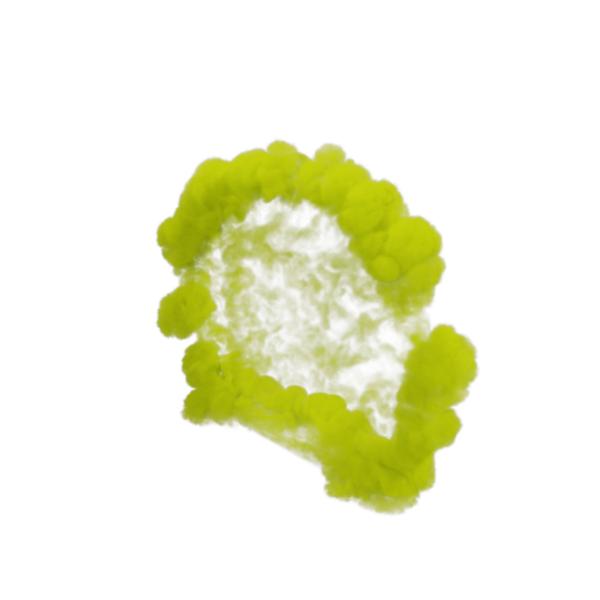 Yellow Smoke Blast PNG & PSD Images