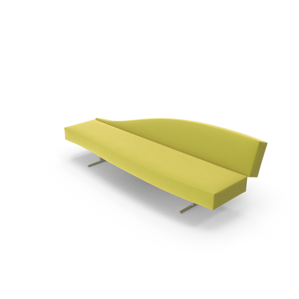 Yellow Sofa PNG & PSD Images