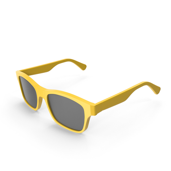 Yellow Sunglass PNG & PSD Images