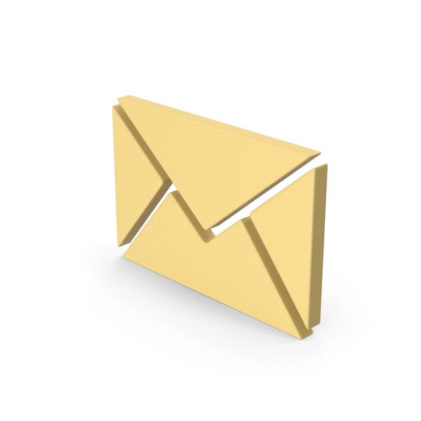 Symbols: Yellow Symbol Message PNG & PSD Images