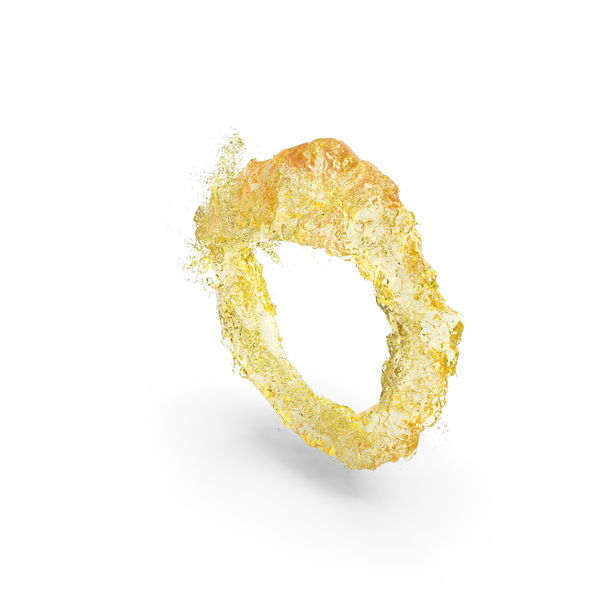 Yellow Water Ring PNG & PSD Images