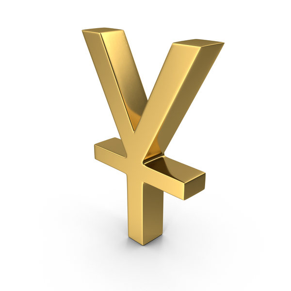 Yen and Yuan Symbol PNG & PSD Images