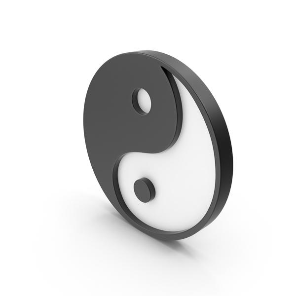 Yin Yang Symbol PNG & PSD Images