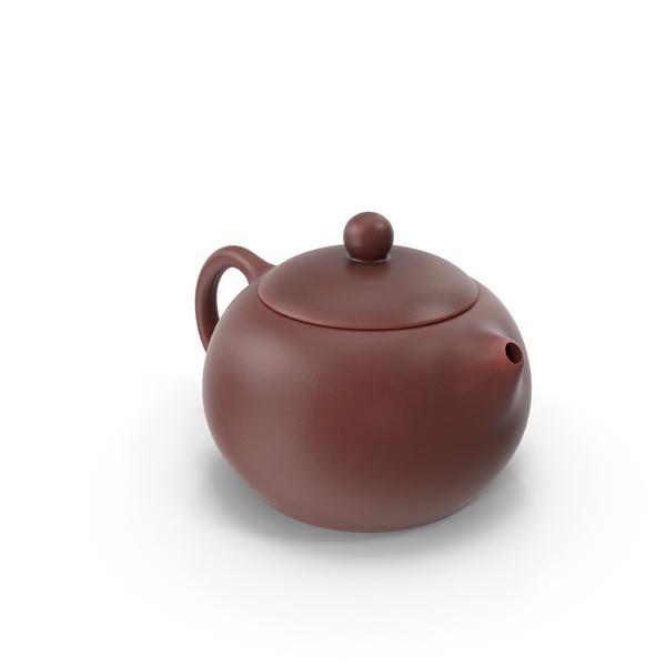 Yixing Clay Teapot PNG & PSD Images