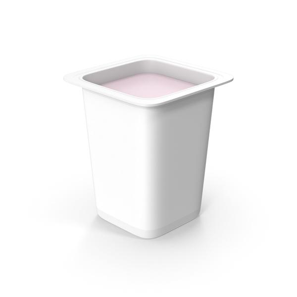Yogurt Cup No Cap PNG & PSD Images
