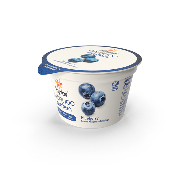 Yogurt: Yoplait Greek PNG & PSD Images