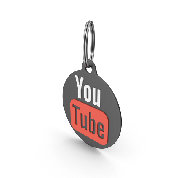 Keychain: Youtube Logo Icon PNG & PSD Images