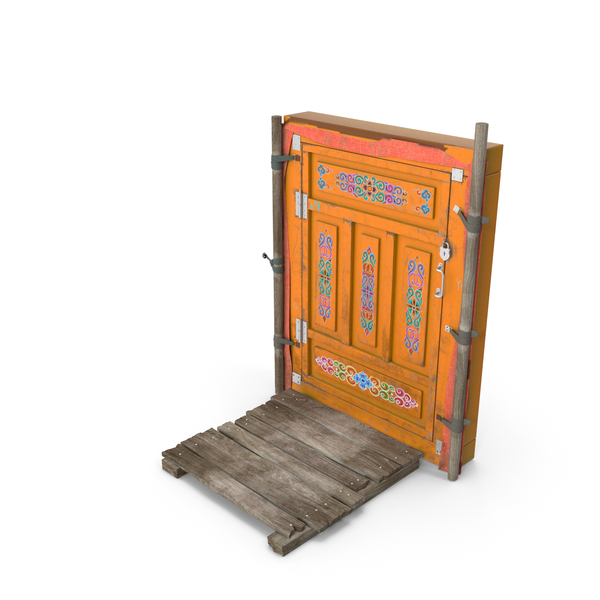 Exterior Door: Yurt Entrance PNG & PSD Images