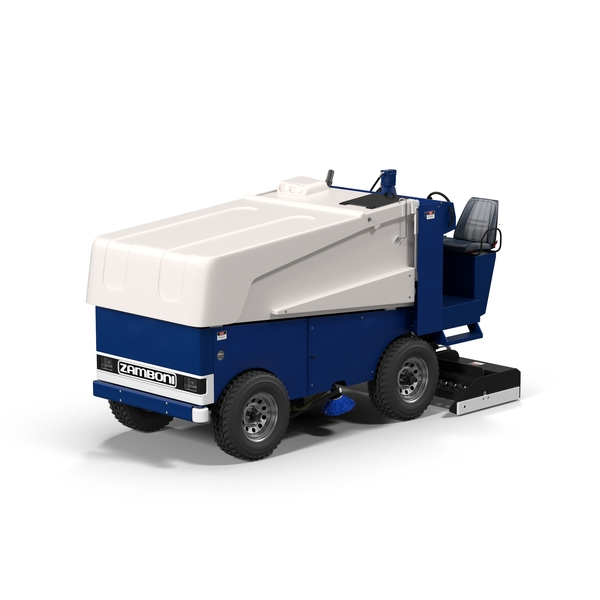 Ice Resurfacer: Zamboni 525 PNG & PSD Images