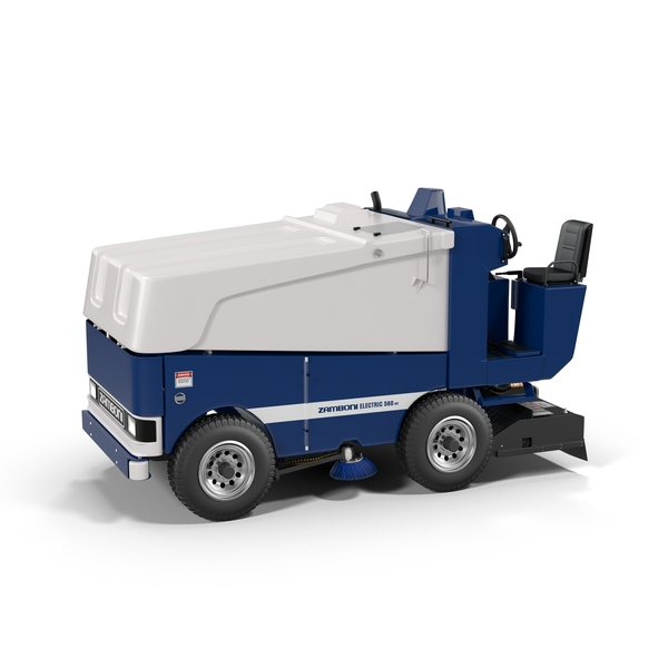 Ice Resurfacer: Zamboni 560 AC PNG & PSD Images