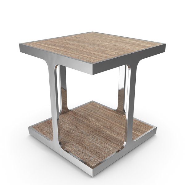 Zanuso Industrial Square Side Table PNG & PSD Images
