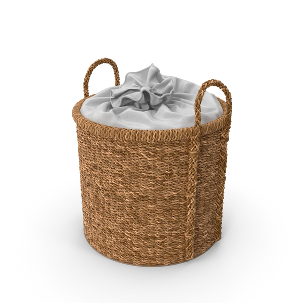 Zara Home Laundry Basket PNG & PSD Images