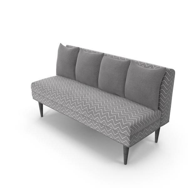 Zigzag Sofa PNG & PSD Images