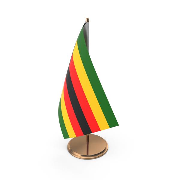 Zimbabwe Desk Flag PNG & PSD Images