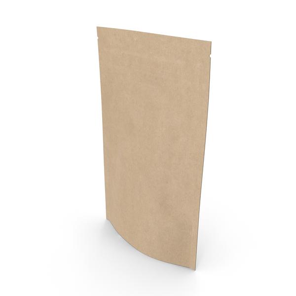 Zipper Craft Paper Bag 50g PNG & PSD Images