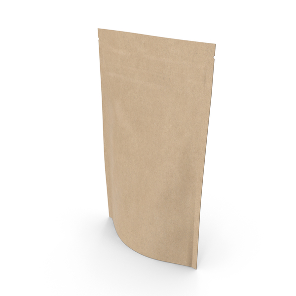 Zipper Kraft Paper Bag 150g PNG & PSD Images