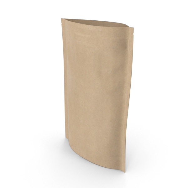 Food Container: Zipper Kraft Paper Bag 200 g Open PNG & PSD Images