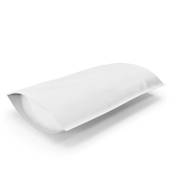 Takeaway Food Container: Zipper White Paper Bag 500g Open PNG & PSD Images
