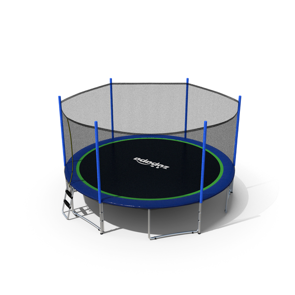 Zupapa 15ft Round Trampoline PNG & PSD Images