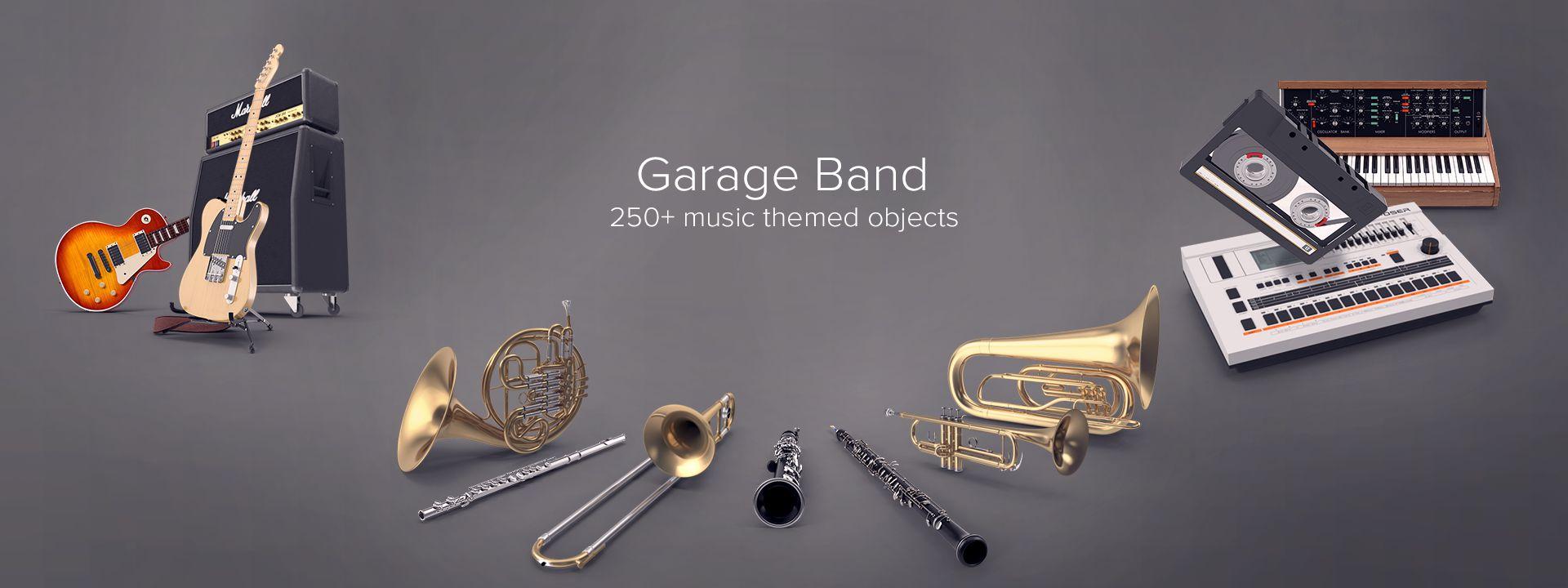 Garage Band Collection PNG Images & PSDs for Download   PixelSquid