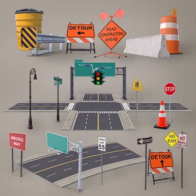 Roads & Highways Collection