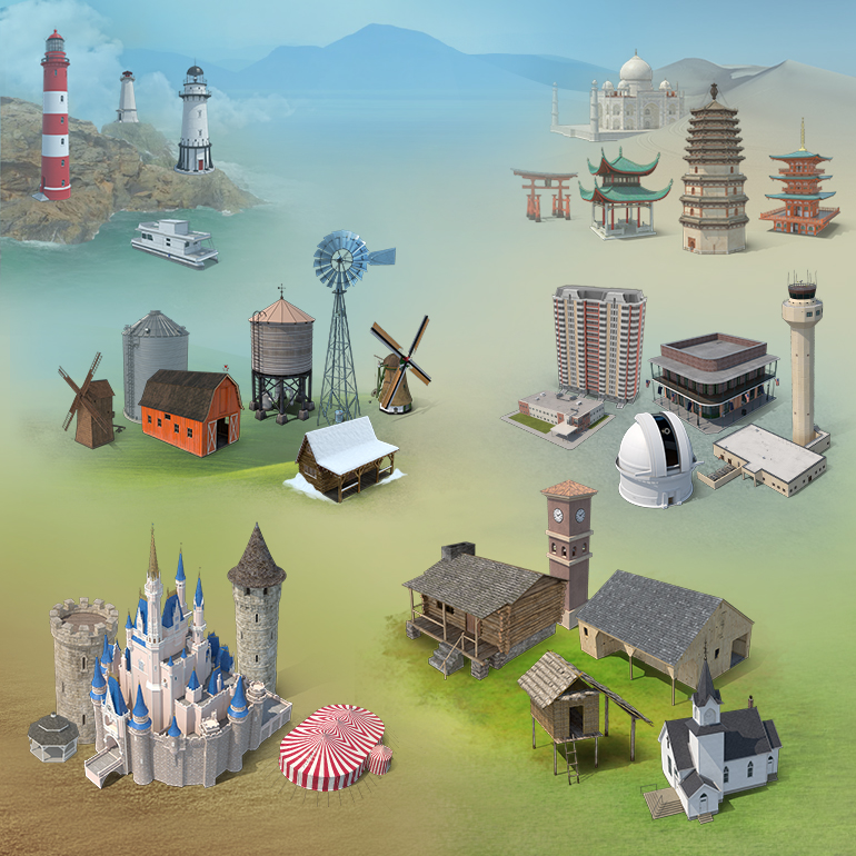 Iconic Structures Collection