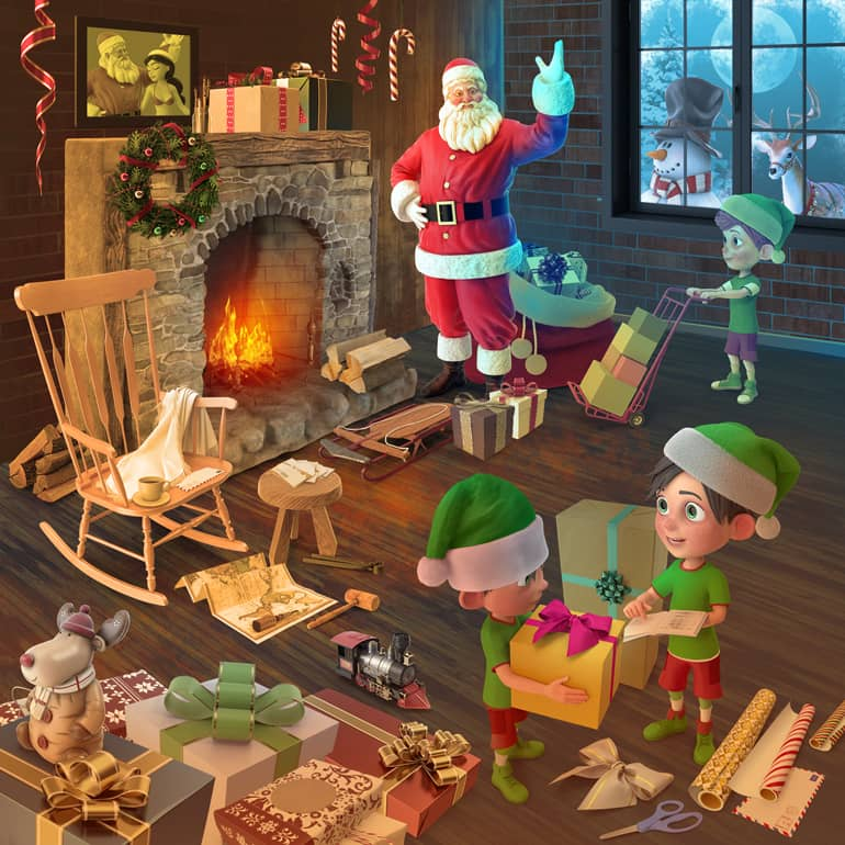 Santa's Workshop Collection